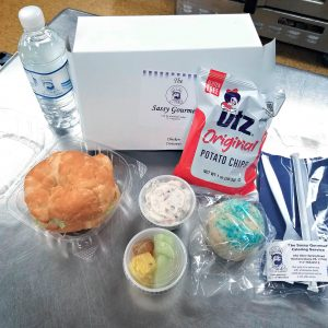 Chicken Salad on a Croissant boxed lunch